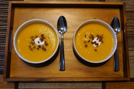 Fall Food: Butternut Squash Soup